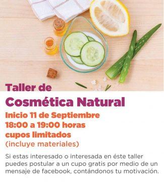 Taller de Cosmetica Natural