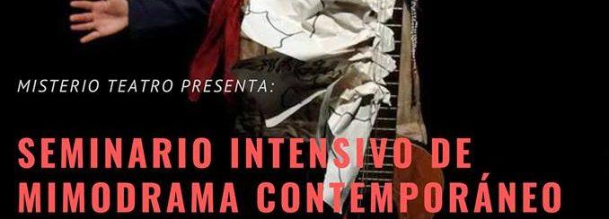 La accion como cuerpo poético, seminario mimodrama contemporáneo